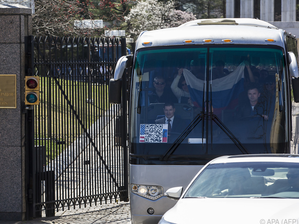 Russische Diplomaten mussten ausreisen