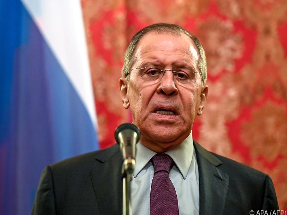 Russlands Außenminister Sergej Lawrow