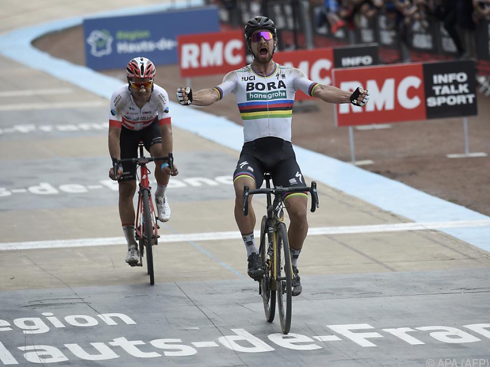 Sagan gewann erstmals in der Hölle des Nordens