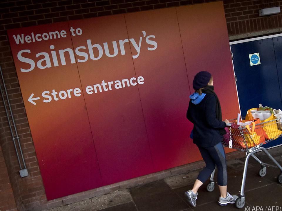 Sainsbury\'s belegt zurzeit den zweiten Platz auf dem britischen Markt