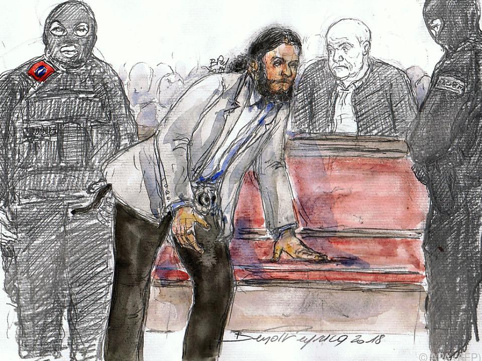 Salah Abdeslam dürfte dem Gericht fernbleiben