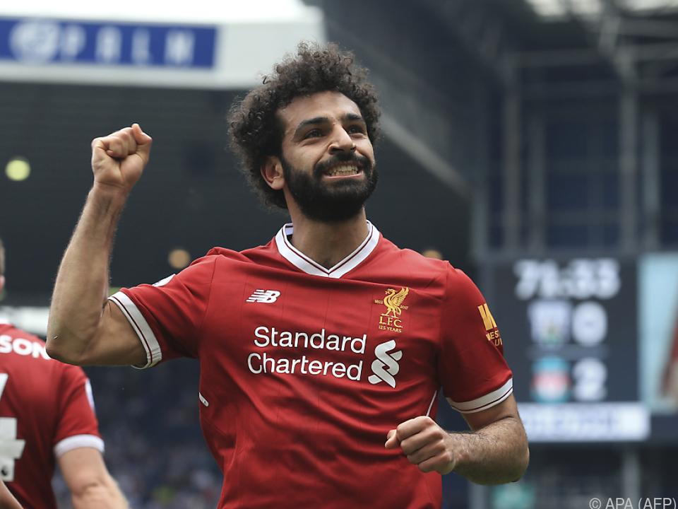Salah hatte Rom im Sommer Richtung Liverpool verlassen