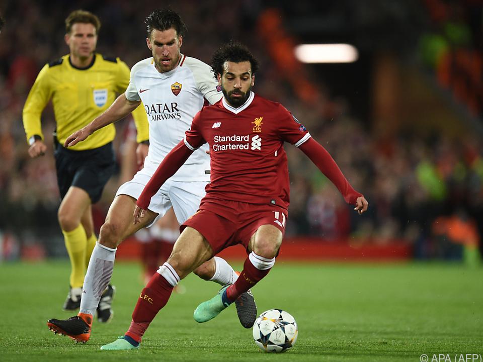 Salah spielte die Roma schwindlig