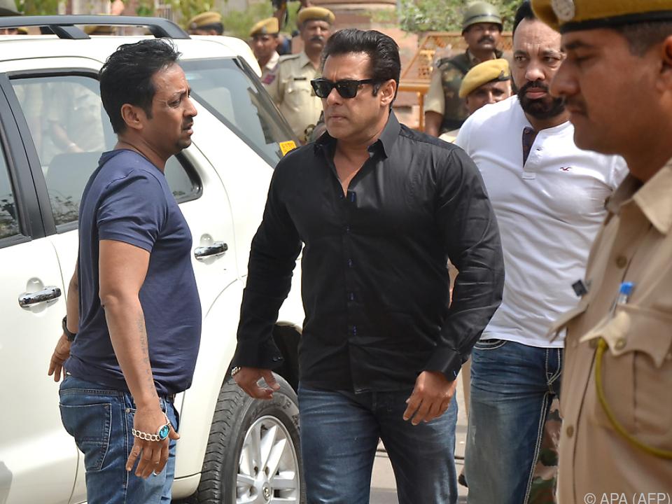 Salman Khan soll Jagd auf seltene Antilope gemacht haben