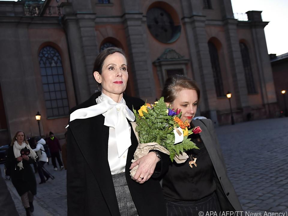 Sara Danius (li) und Sara Stridberg haben die Jury verlassen