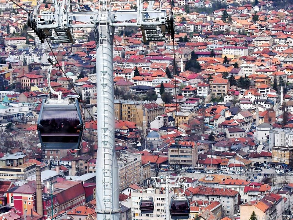 Sarajevo hat wieder eine Seilbahn