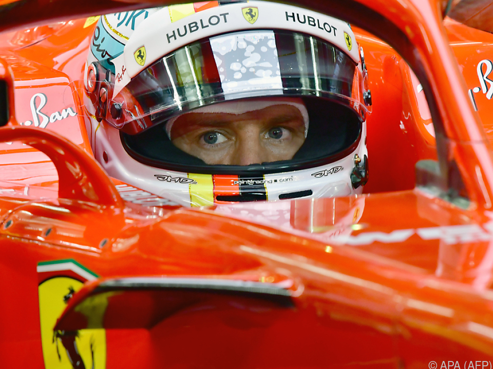 Schnellste Zeit für Vettel im Qualifying