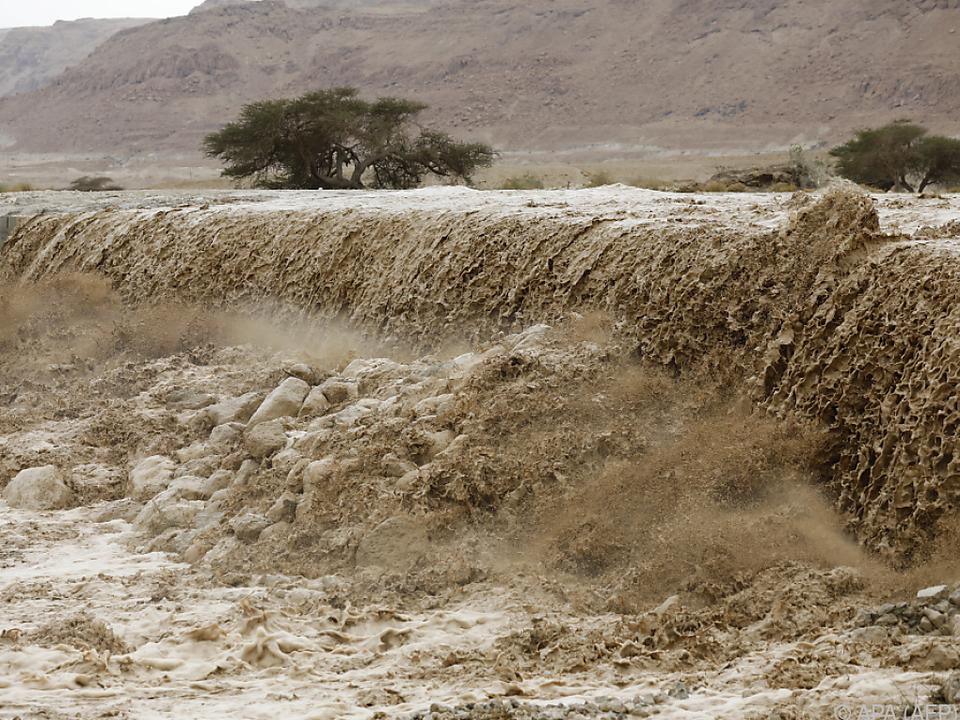 Schwere Überschwemmungen in Teilen Israels