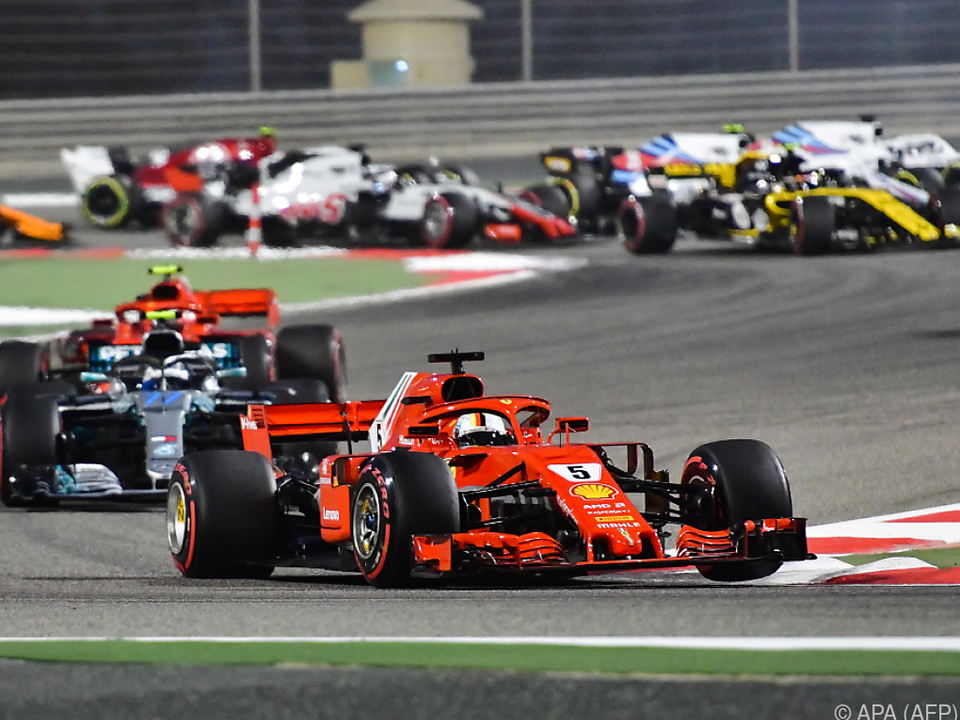 Sebastian Vettel gewann Rennen (relativ) ungefährdet
