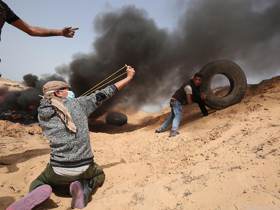 Seit Ende März wird an der Gaza-Grenze protestiert