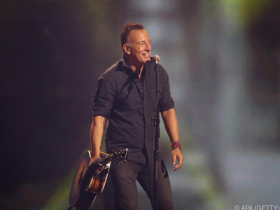 Springsteen ist einer der erfolgreiches US-Musiker
