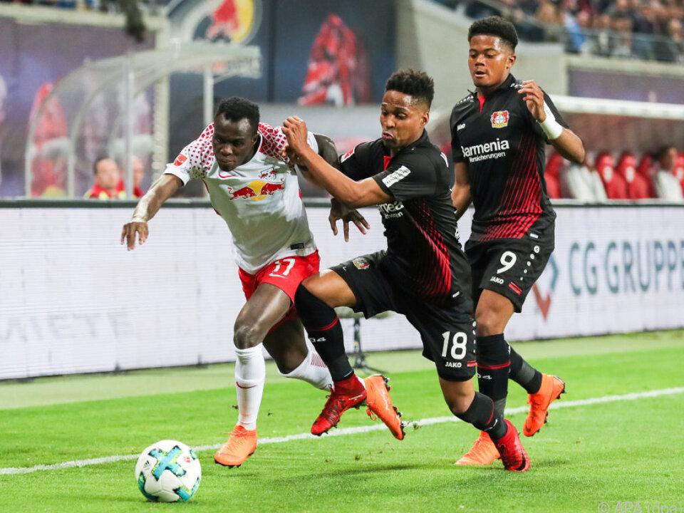 Starker Auftritt von Leverkusen in Leipzig