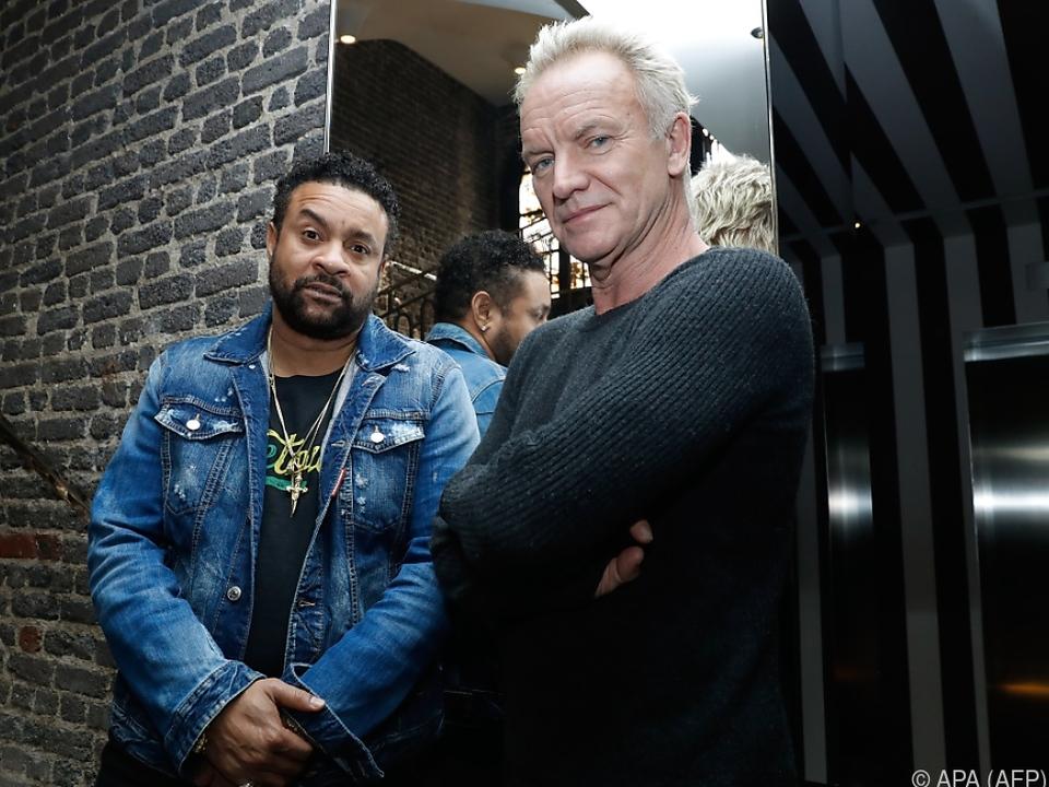 Sting singt mit Shaggy für die Queen
