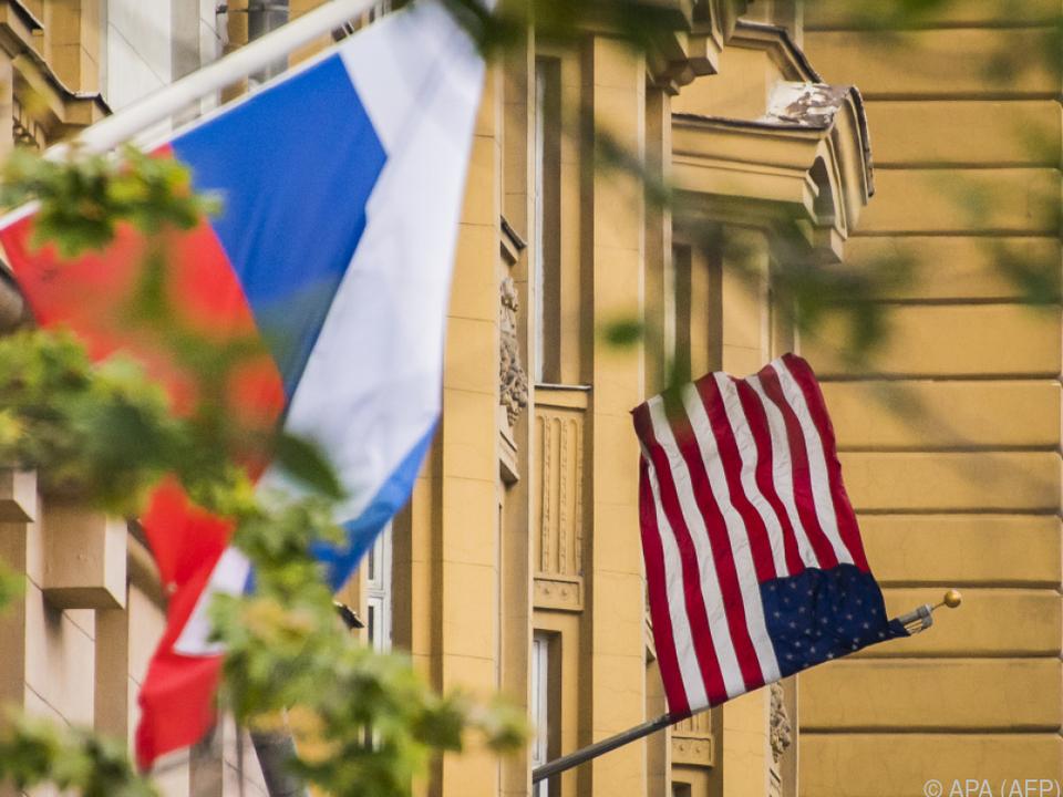 Streit zwischen Moskau und Washington