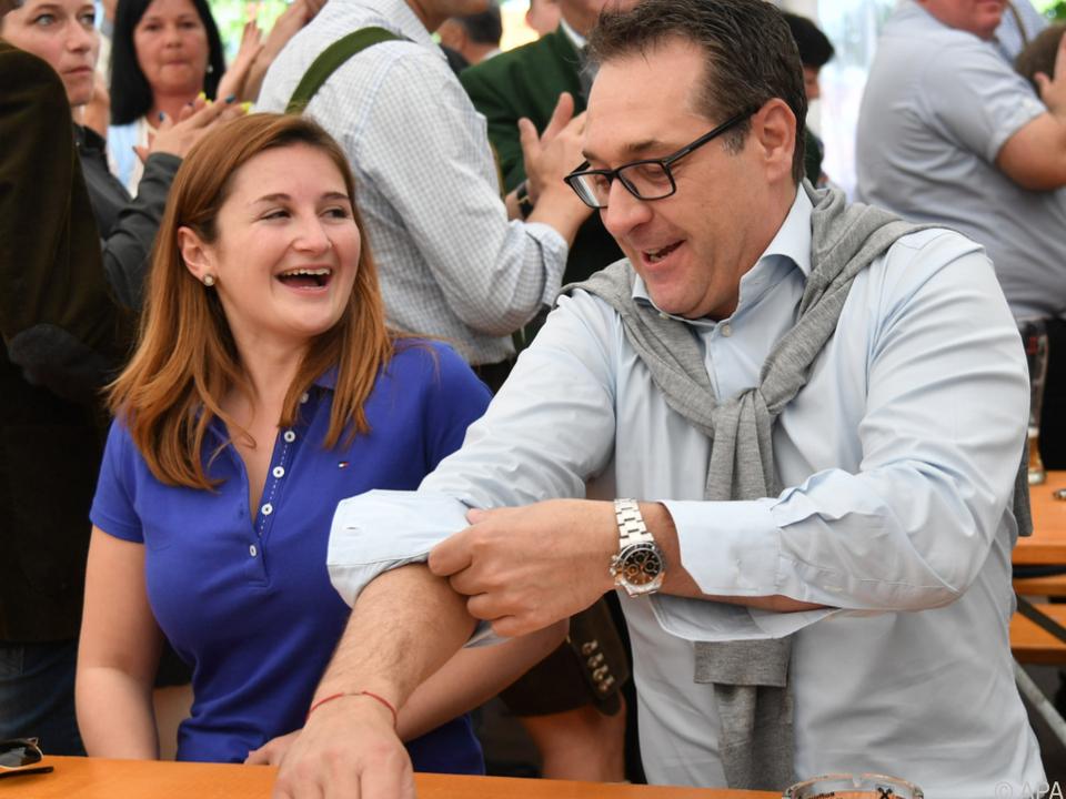 Svazek erhielt Unterstützung von Parteichef Strache