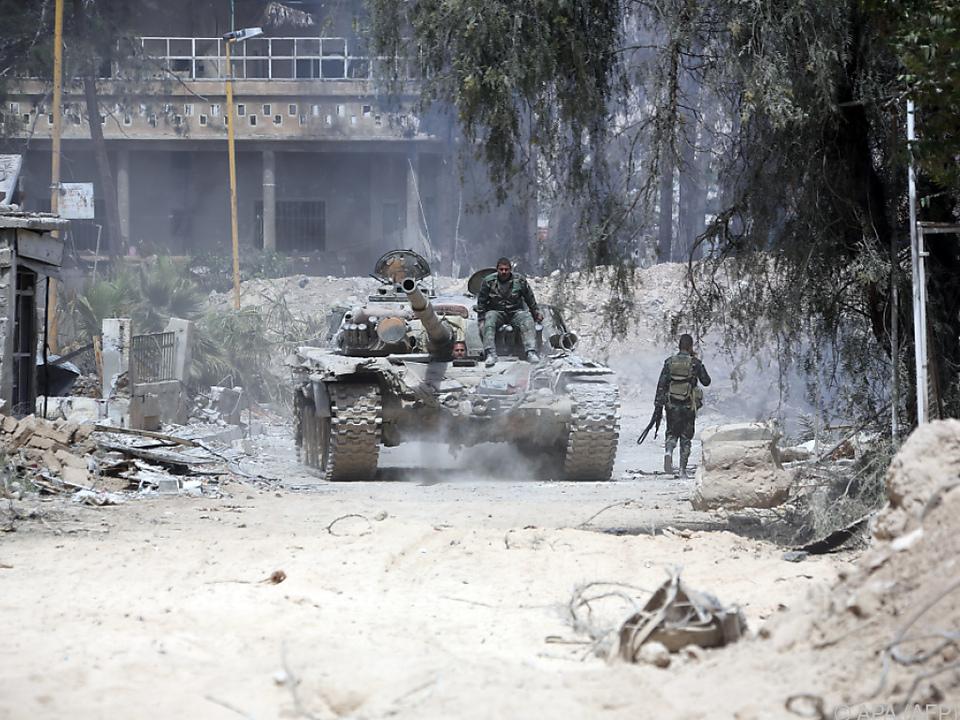 Syrien bestreitet Einsatz von Giftgas