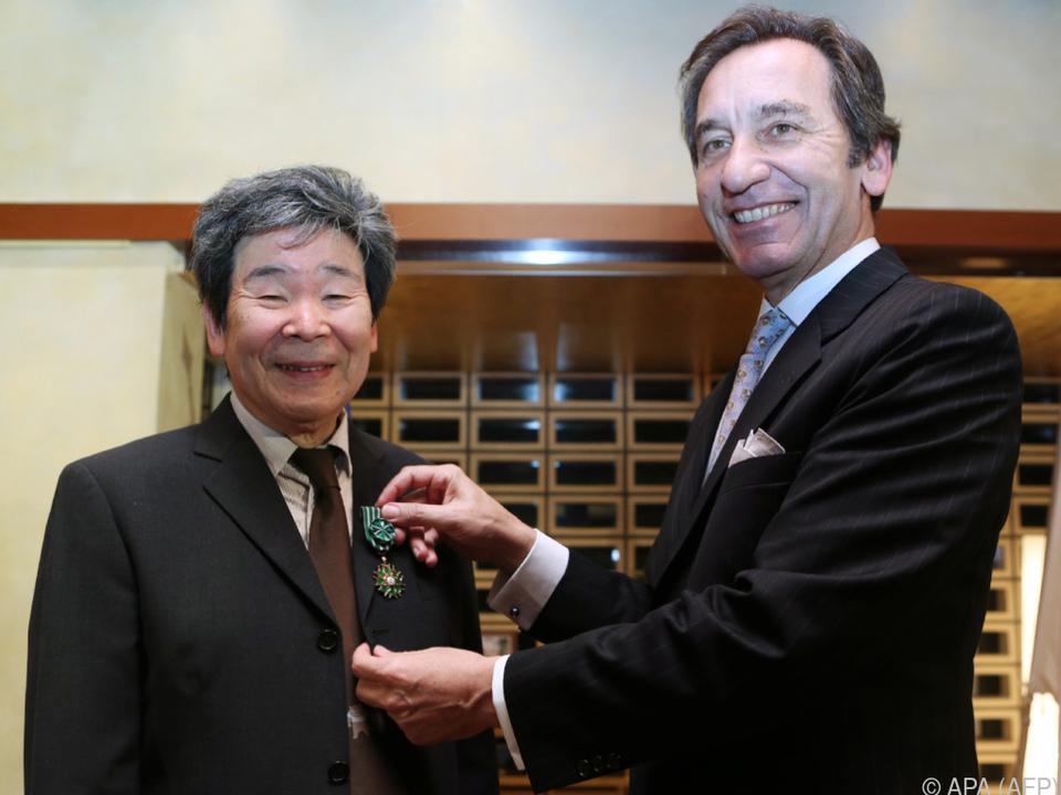 Takahata erhielt den Ordre des Arts et Lettres