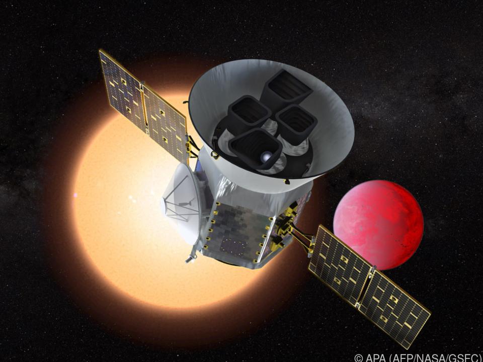 TESS soll Planeten in nahen Sonnensystemen finden