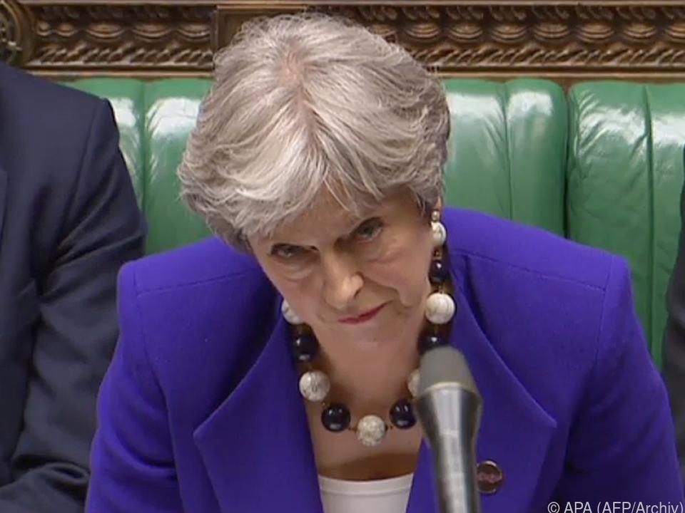 Theresa May konnte Abweichler nicht umstimmen