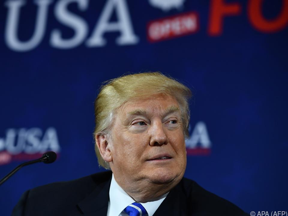 Trump glaubt inbeirrt an sein Können