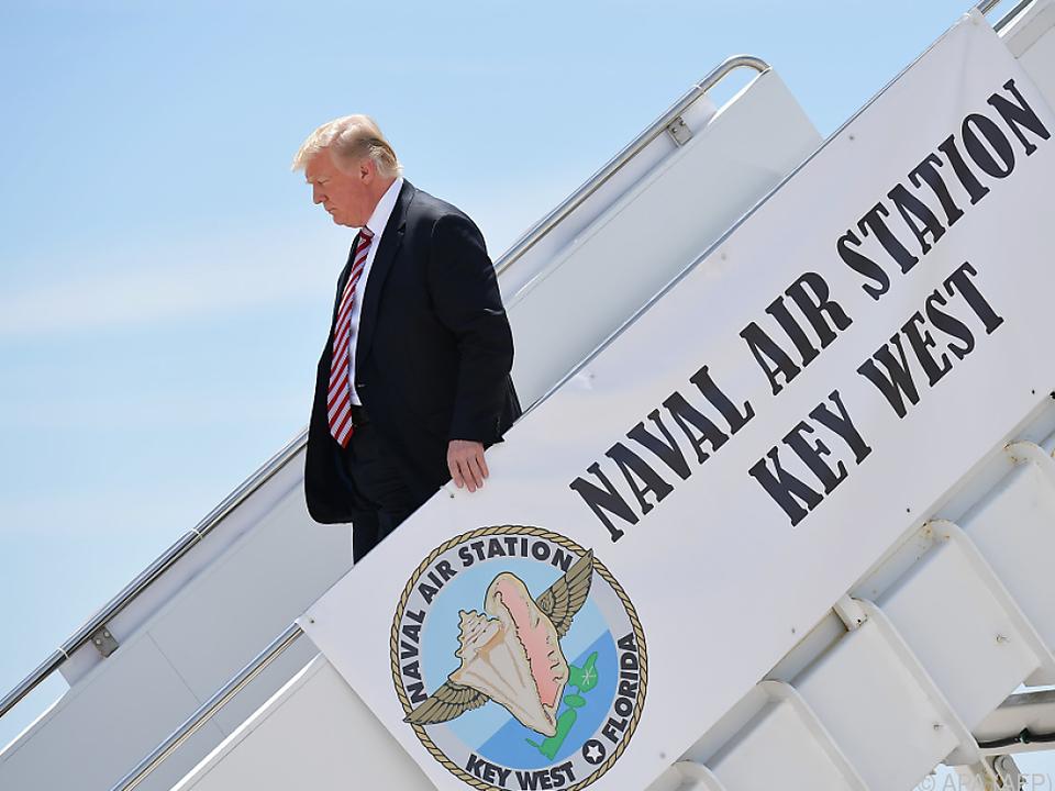 Trump-Regierung geht hart mit ihren \