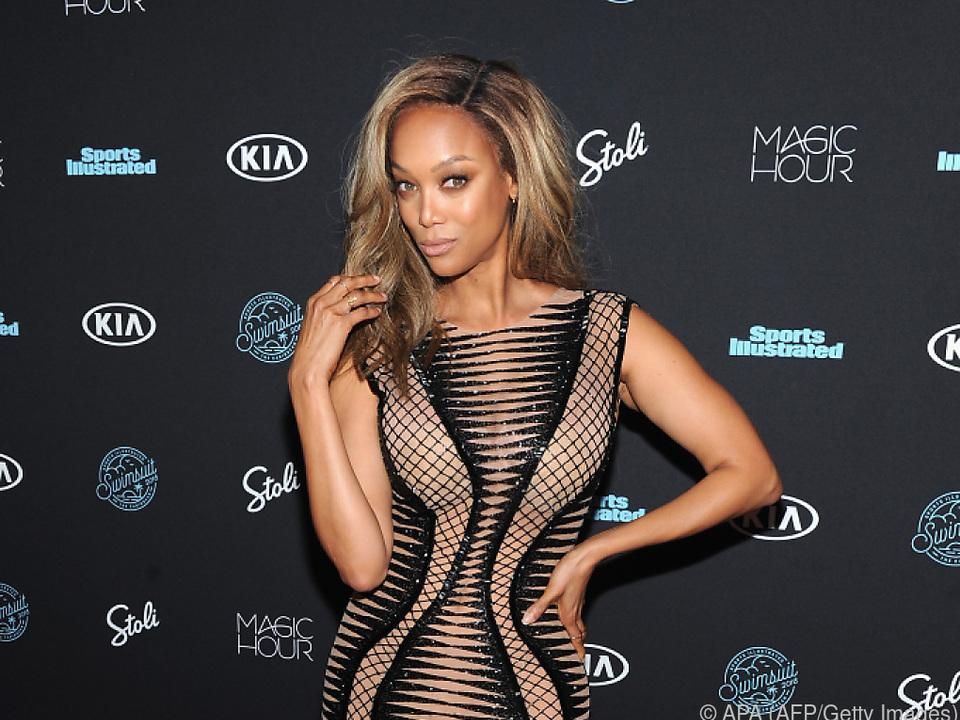 Tyra Banks liebt die Bühne - deswegen sang sie