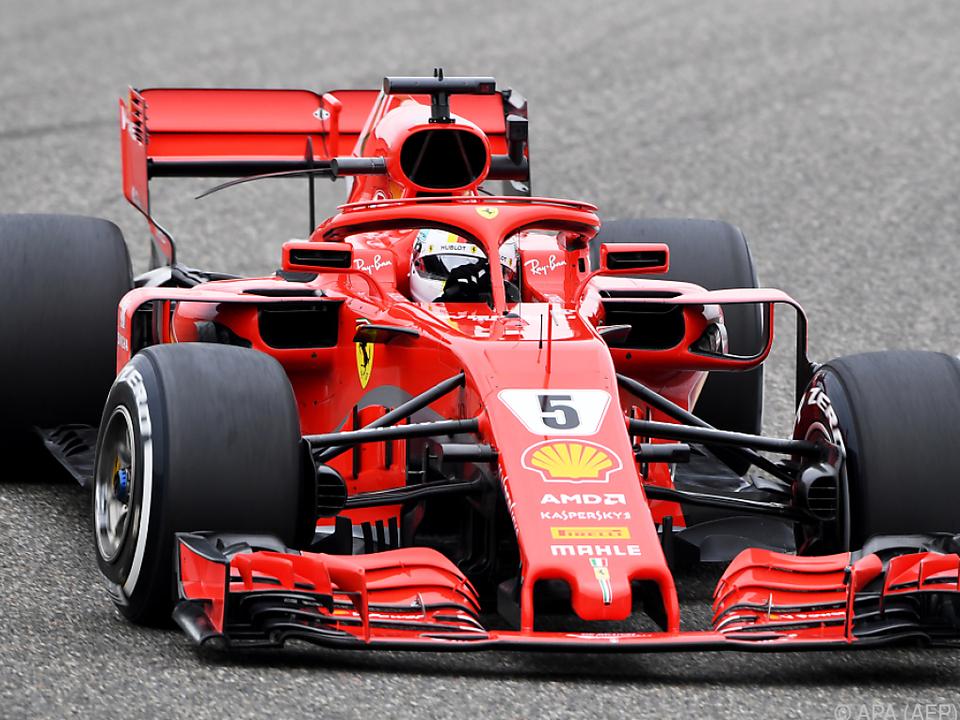 Vettel ist weiterhin in Topform