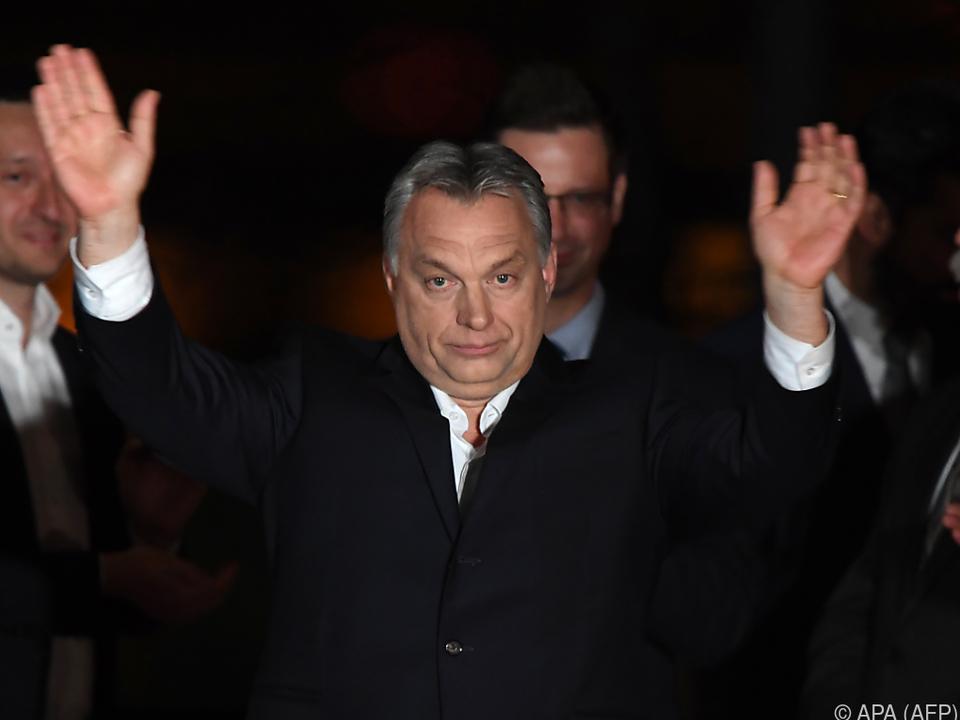 Viktor Orban erreichte Zweidrittelmehrheit