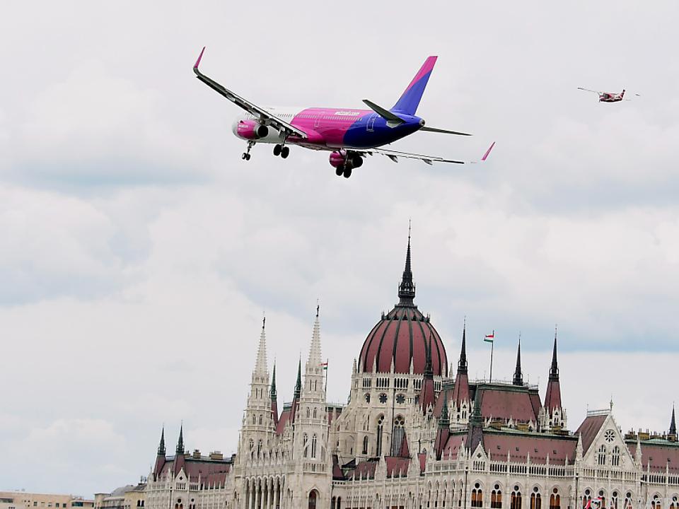 Von Budapest nach Wien: Die Wizz Air will hoch hinaus