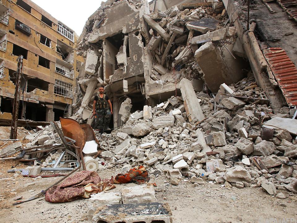 Von Ost-Ghouta ist nicht mehr viel übrig