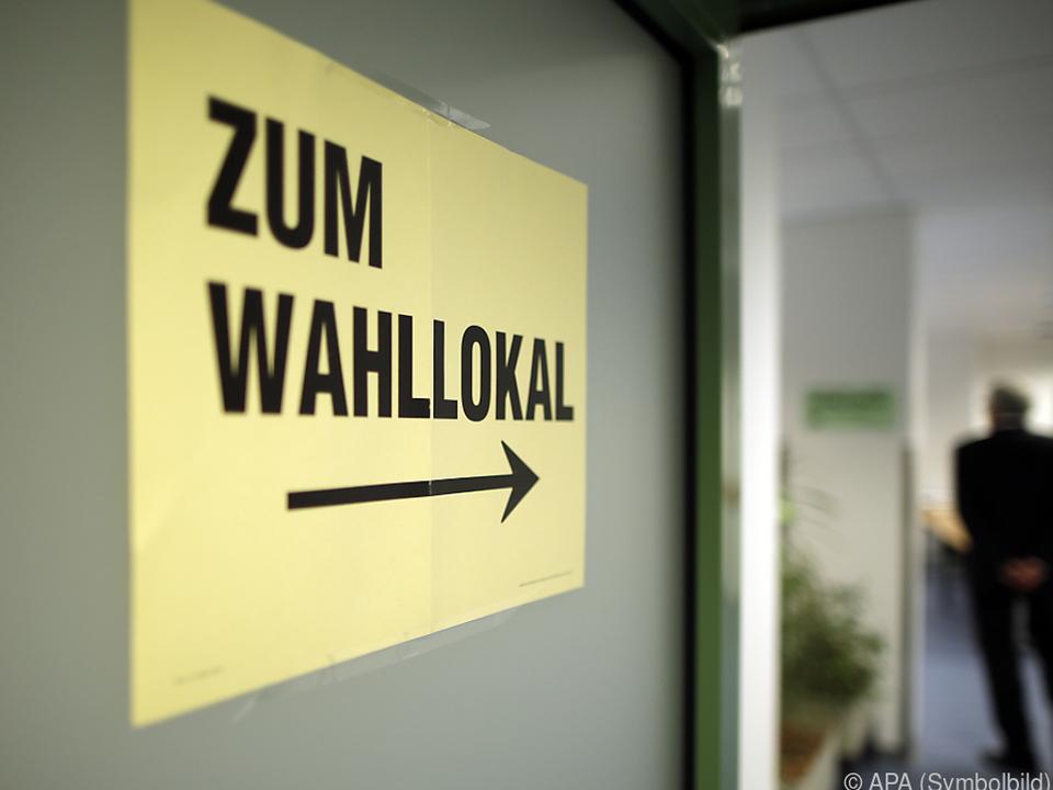 Wahltag in Innsbruck