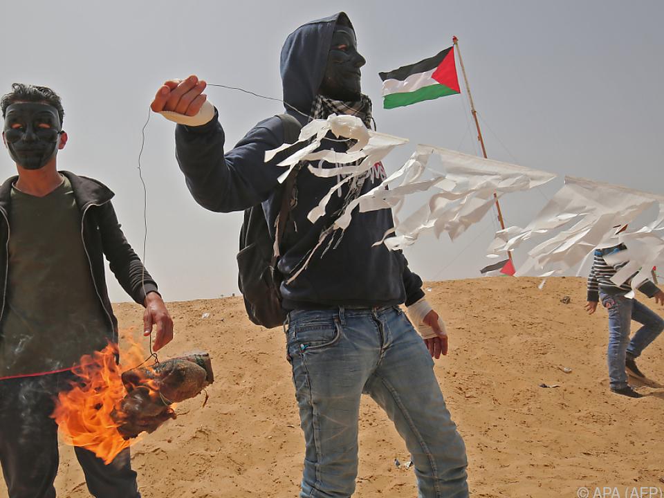 Wieder Zusammenstöße im Gazastreifen