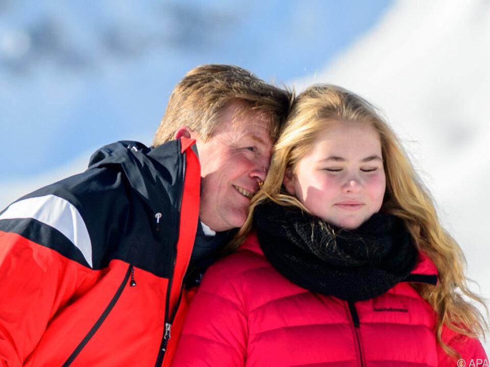 Willem-Alexander möchte seine Kinder viel im Freien sehen