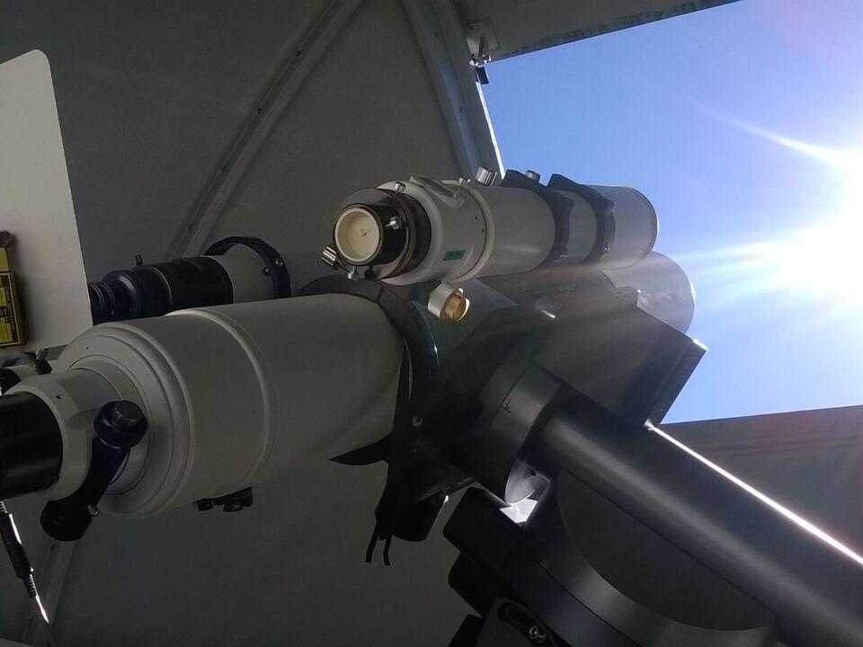 teleskop gummer sternwarte