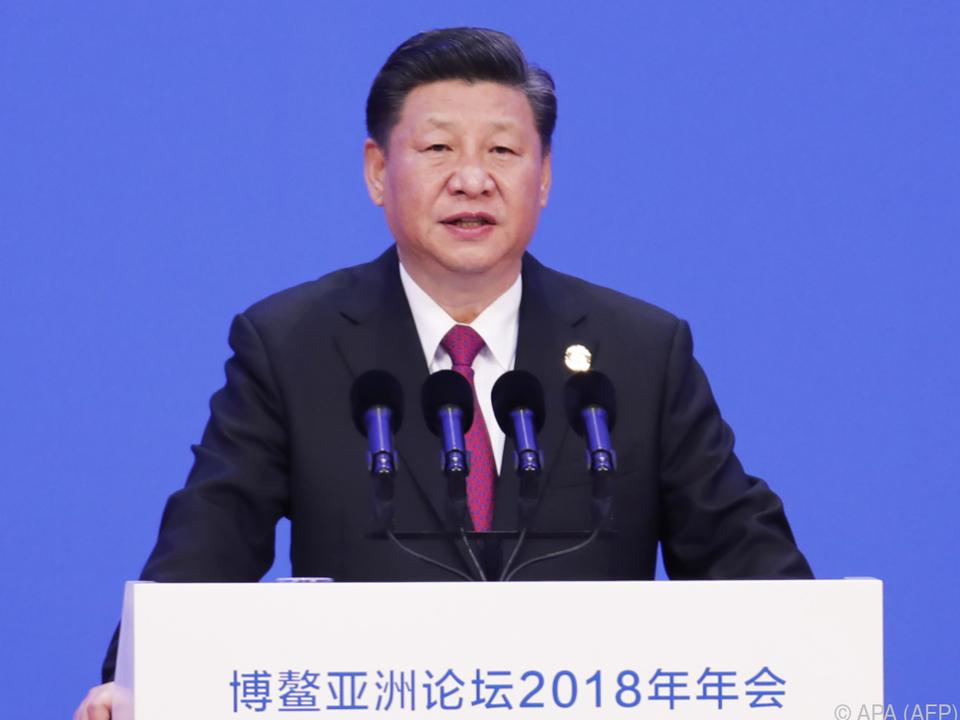Xi möchte die Wirtschaft für ausländische Investoren weiter öffnen