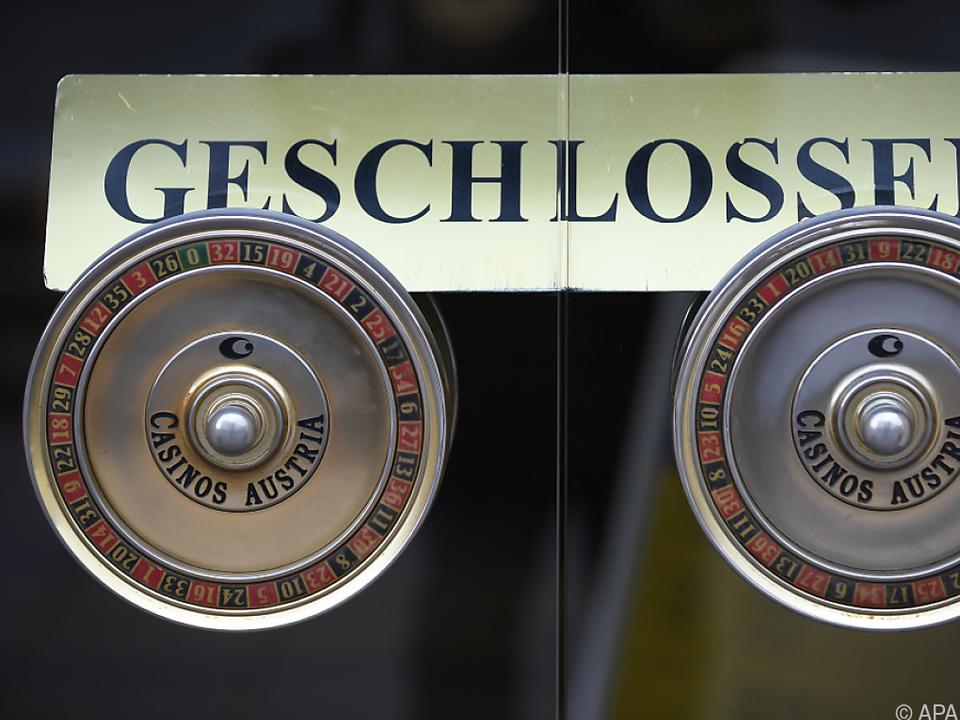 Zehntausende haben in den Casinos Spielverbot