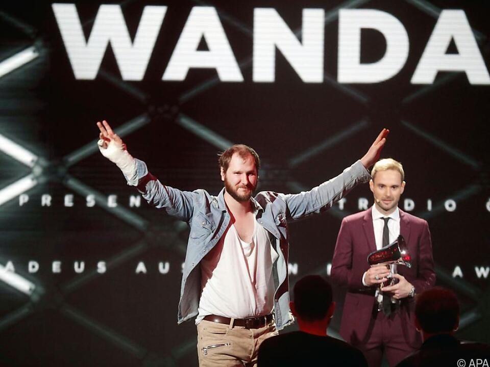 Zwei Amadeus für Wanda