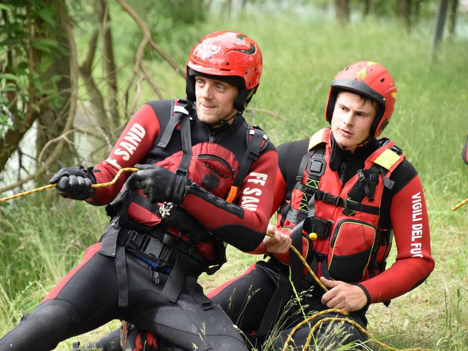 Ausbildung Wasserrettung Rafting Einsatz Übung