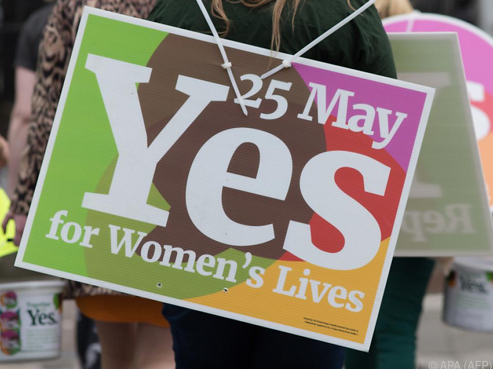 66 Prozent der Iren haben für Ende des Abtreibungsverbots gestimmt