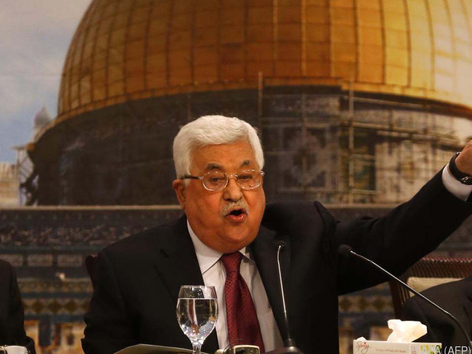 Abbas hat eine eigene Sicht der Geschichte