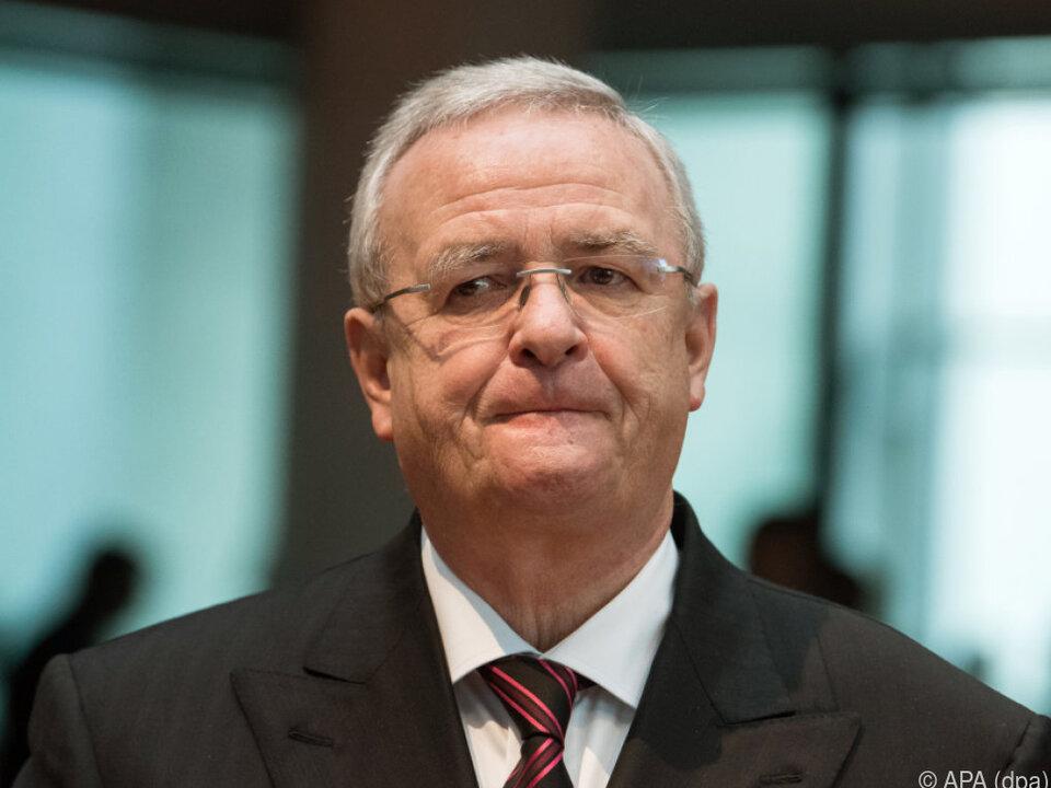Abgasmanipulation: Anklage gegen Martin Winterkorn in den USA