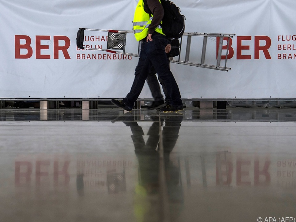 Am Berliner Flughafen wurden erneut Mängel festgestellt