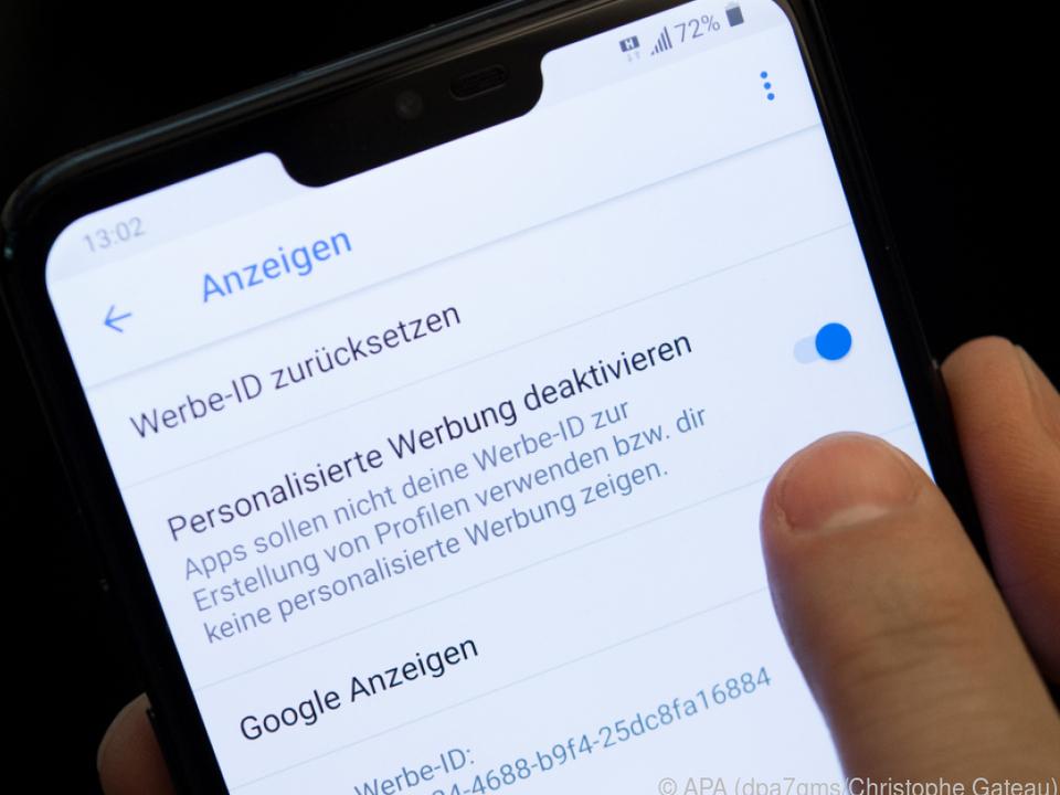 Android-Nutzer können das zu persönliche Datensammeln abschalten