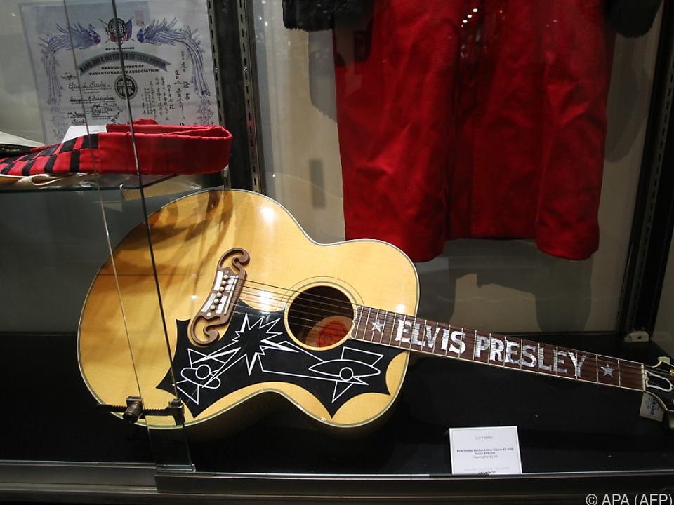 Auch Elvis Presley nannte eine Gibson sein eigen
