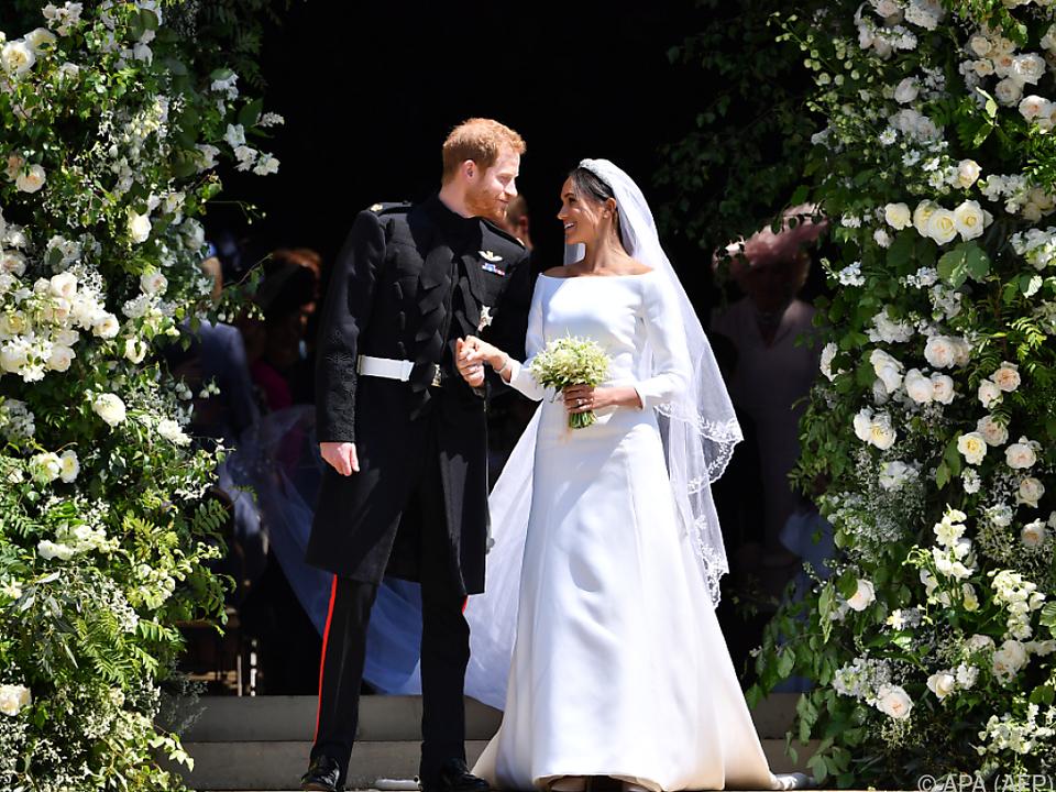 Auch in Meghan Markles Heimatland USA war die Hochzeit ein Hit