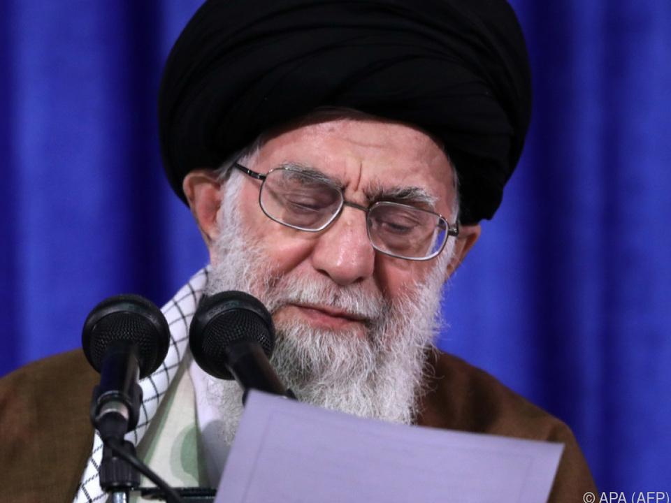 Ayatollah Ali Khamenei: \