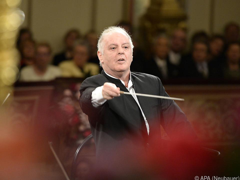 Barenboim ist mit der Staatskapelle Berlin im Musikverein zu Gast
