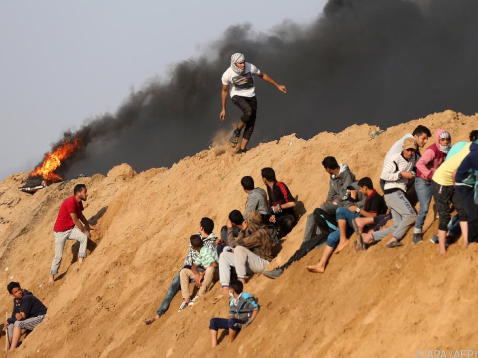 Bei den aktuellen Unruhen starben bisher an die 60 Menschen