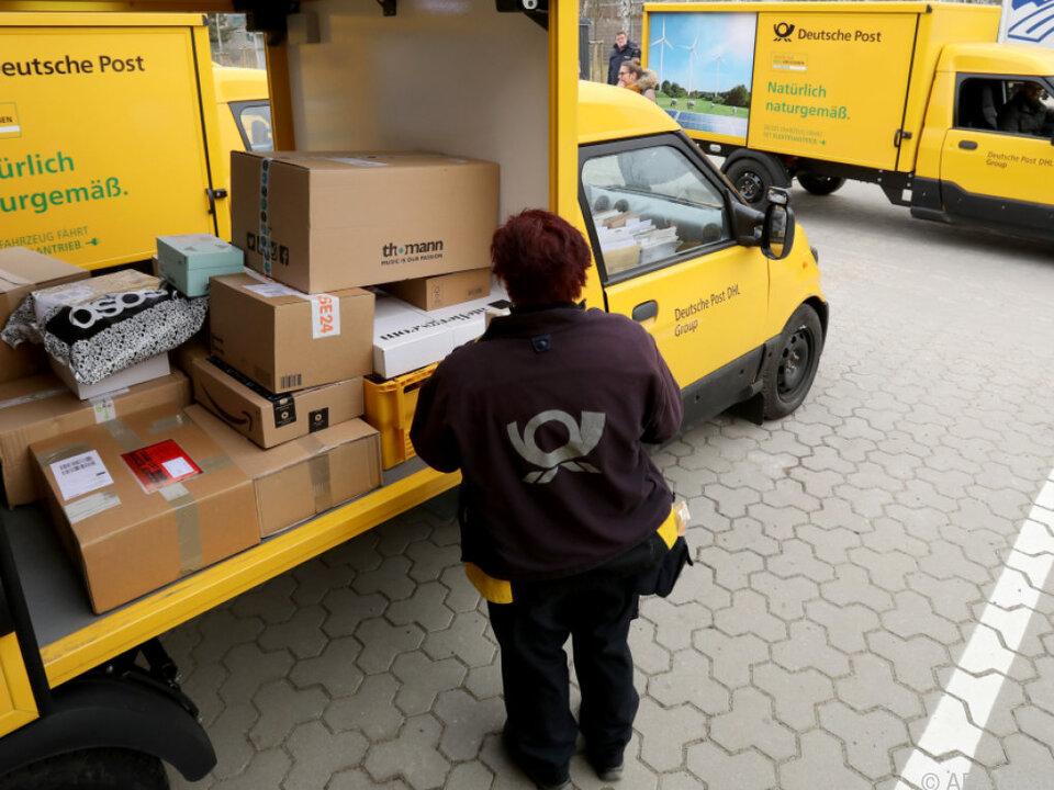 Bei der Deutschen Post gelten strenge Regeln, vor allem für Zusteller