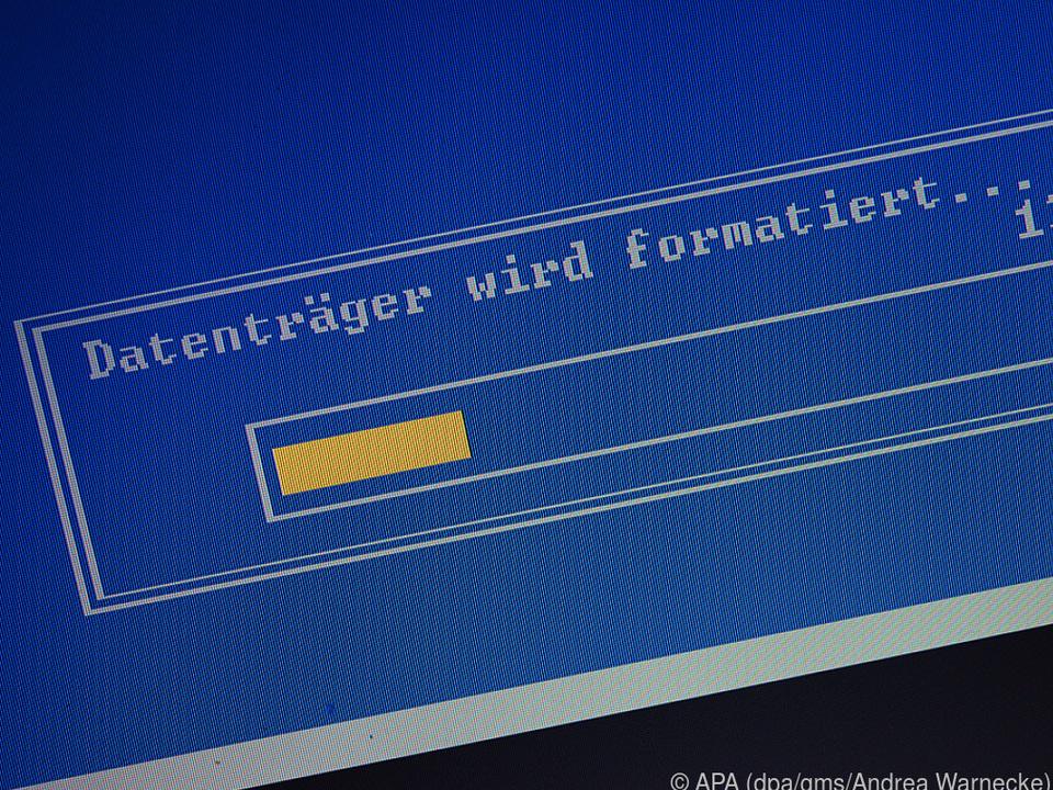 Beim Formatieren wird nur das Inhaltsverzeichnis des Datenträgers gelöscht
